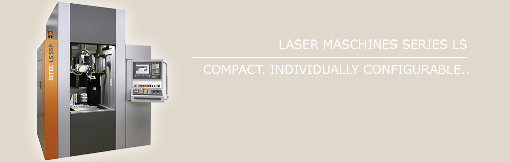 laser machines of LS series in stand-alone- version: compact and individually configurable